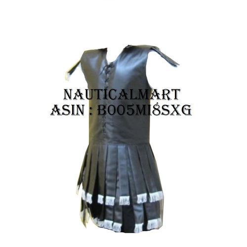 Handtooled Handcrafted Leather Roman Subarmalis - Armour Costume