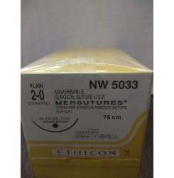 Ethicon Sterilised Surgical Gut Plain (Nw5033)