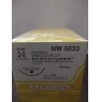 Ethicon Sterilised Surgical Gut Plain (Nw5033)
