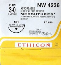Ethicon Sterilised Surgical Gut Plain (Nw4236)