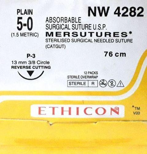Ethicon Sterilised Surgical Gut Plain (Nw4282)