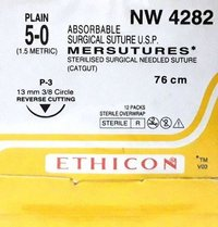 Ethicon Sterilised Surgical Gut Plain (Nw4282)