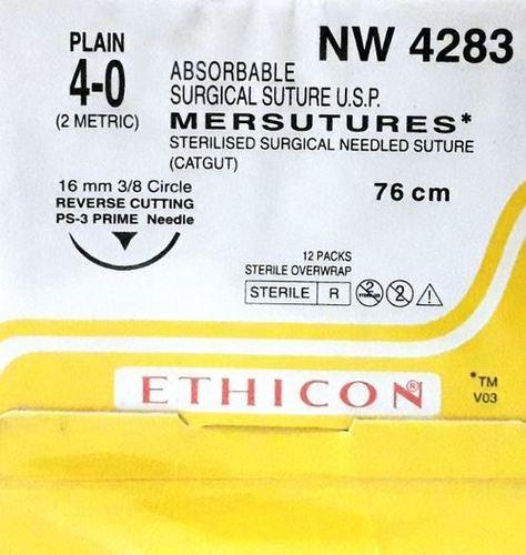 Ethicon Sterilised Surgical Gut Plain (Nw4283)