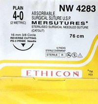 Ethicon Sterilised Surgical Gut Plain (Nw4283)