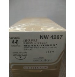 Ethicon Sterilised Surgical Gut Plain With Needle - Mersutures (Nw4283)