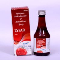 Lyfar Lycopene, Multivitamins & Antioxidents Syrup