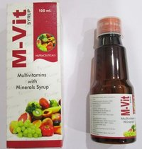 M-Vit Multivitamins with Minerals Syrup