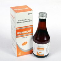 Wondrous B-Complex with L-Lysine, Multivitamin & Antioxidant Syrup