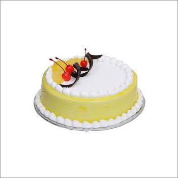 Eggless Pineapple Cake