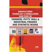 Book on thinners, putty, wall & industrial finishes