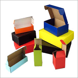 Decorative Plain Corrugated Box