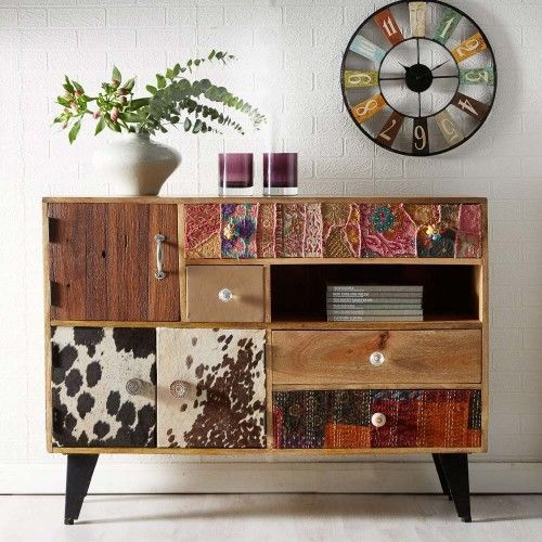 LARGE WOODEN BUFFET