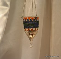 Mosaic T Light Candle Hanging
