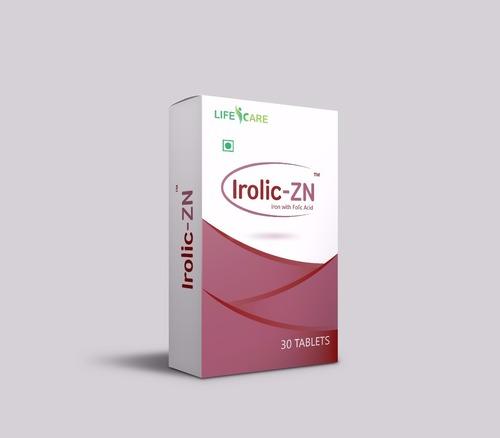 Irolic -ZN (Iron with Folic Acid)