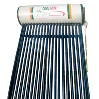 Domestic ETC Solar Water Heating System