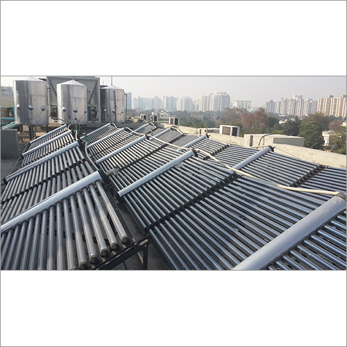 ETC Industrial Solar Water Heating System