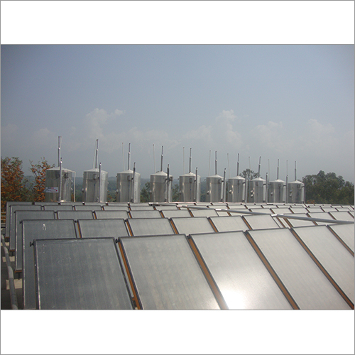 FPC Industrial Solar Water Heating System