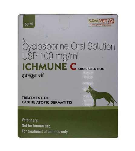 ICHMUNE C ORAL SOLUTION 50ML-CYCLOSPORIN