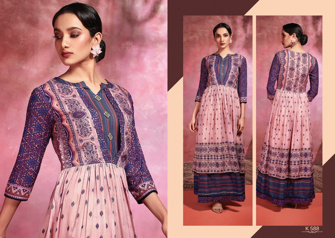Cotton digital printed gowns