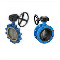 Brass-Bronze Gear Operated Butterfly Valve
