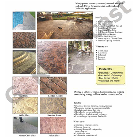 Stamped Concrete Flooring, Stamped Concrete Flooring At