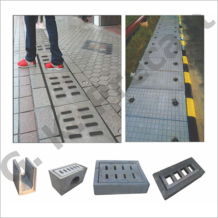 RCPC PFRC SFRC Poly Elastomer Gratings