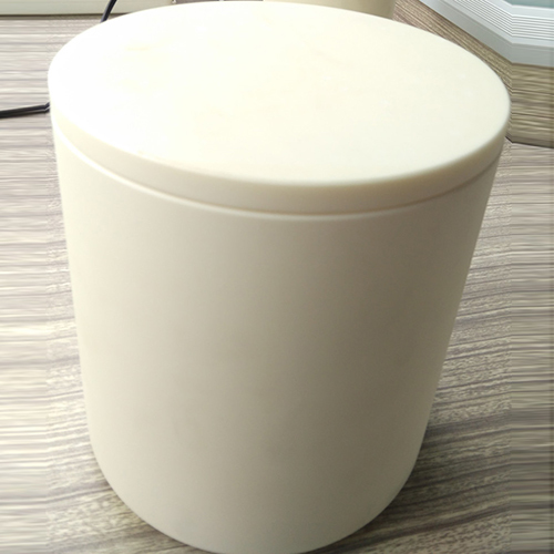 Cylindrical Alumina Crucible