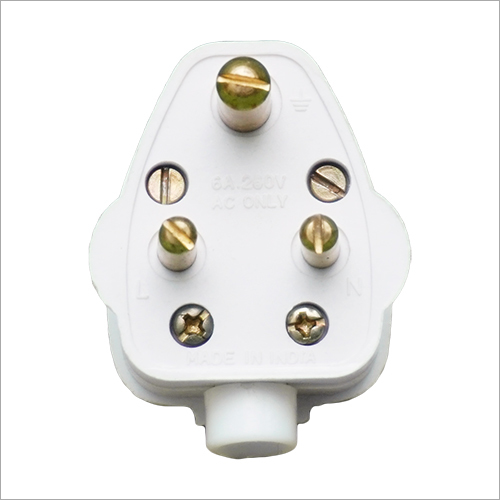 Plastic Plug Top 3 Pin Plug
