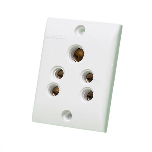 White Switch Board Socket