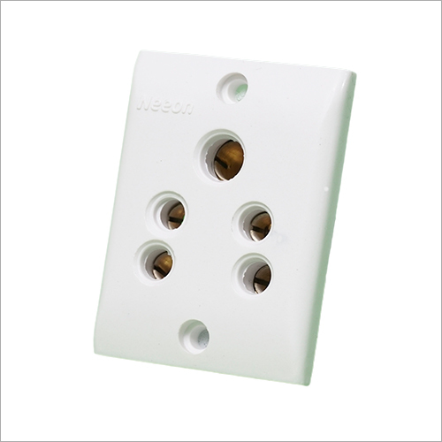 White Switch Board Socket