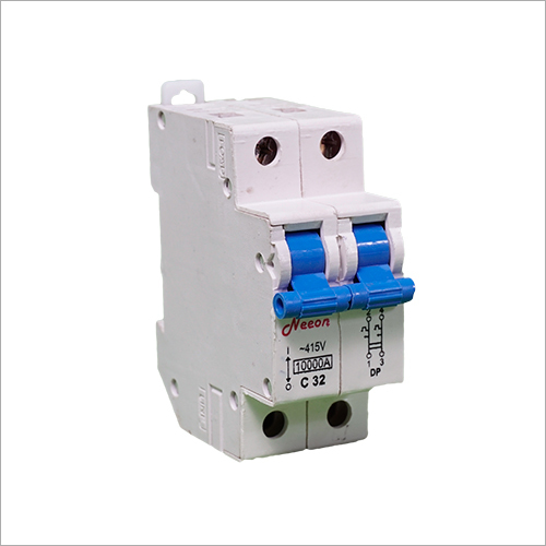2 Pole Miniature Plastic Circuit Breaker