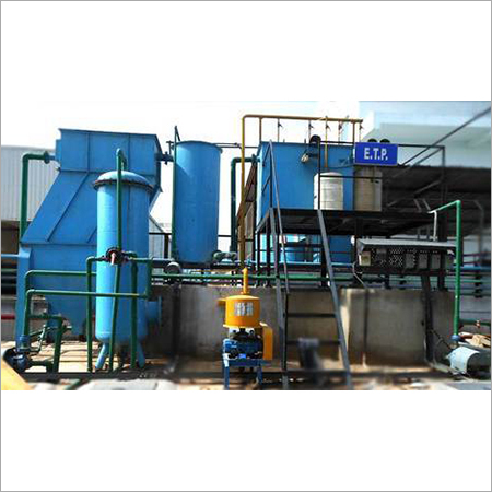 Commercial ETP Water Treatment Plant