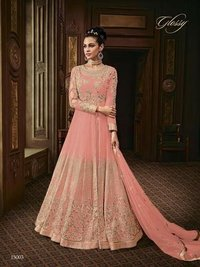 Designer Heavy Embroidered Anarkali Suit