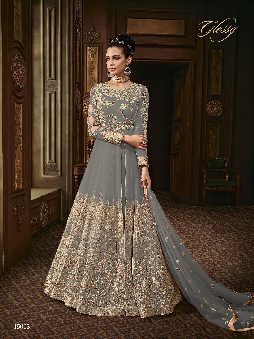 Designer Heavy Embroidered Anarkali Suit