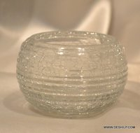 Round Glass Clear Glass Bowl