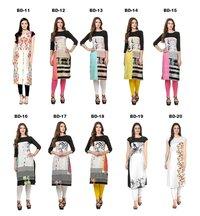 Designer Crepe Printed Kurti