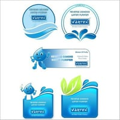 Water Purifier Stickers