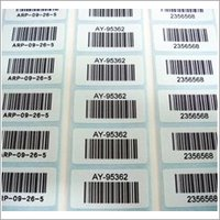 PRINTED BARCODE STICKER
