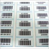 Printed Barcode Sticker