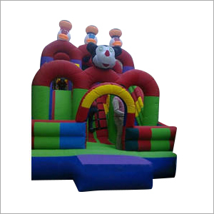Available In Multicolor Fancy Inflatable Slide Castle