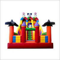 Amusement Inflatable Slide Castle