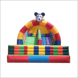 Outdoor Mickey Mouse Inflatable Slide Castle