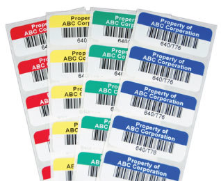 COLOR BARCODE STICKER