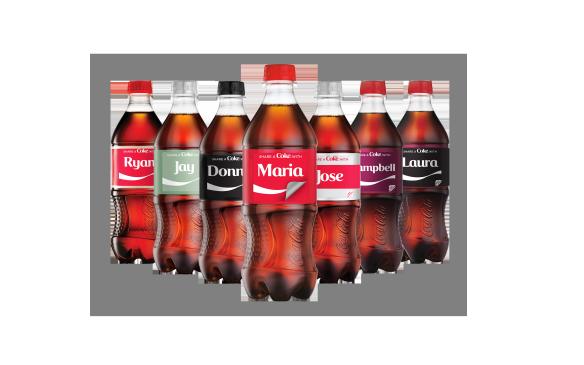 Soft Drink Bottle Stickers