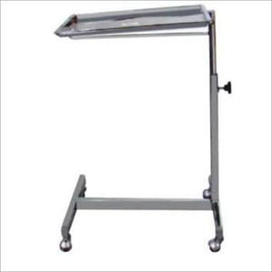 Mayos Instrument Trolley With SS Tray