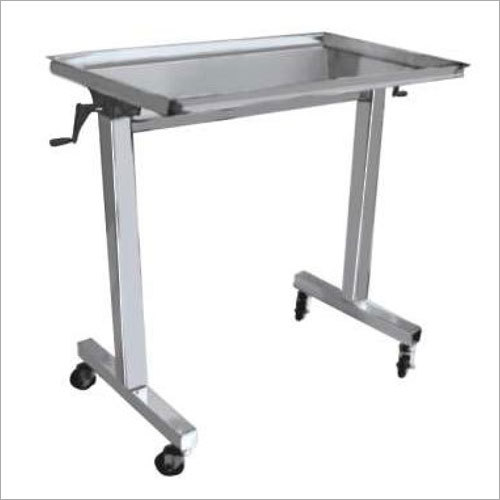 Instrument Mayos Trolley Over O.T Table