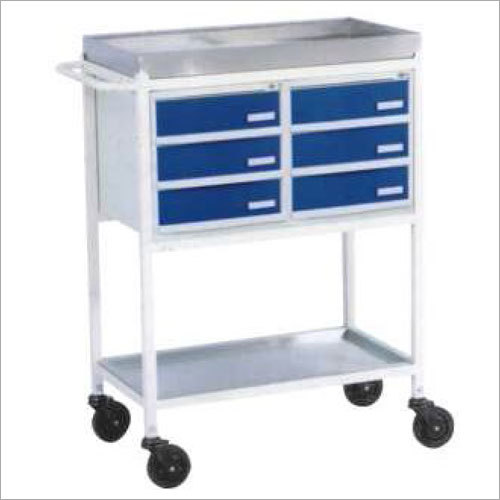 Medicine Trolley 6 Drawers