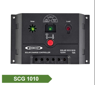3 Stage Automatic 12V/24V 10A Solar Charge Controller