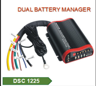 DC DC & MPPT Solar Charger 25Amp
