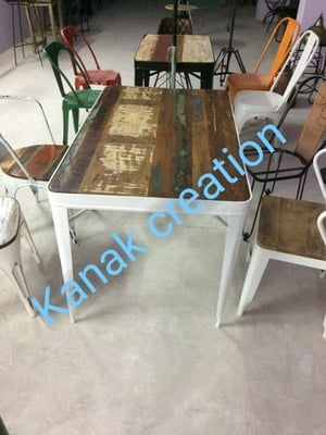 Antique Dining set of six seater